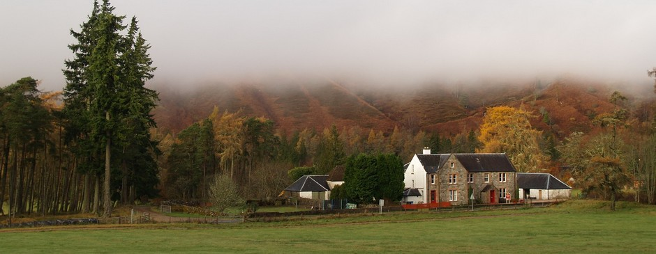 Misty Great Glen Hostel